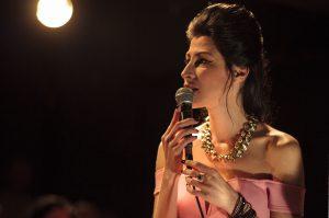 Michal Shapira:Die israelische Reinkarnation von Amy Winehouse am Flügel: Tamir Leibovich @ Schützenhalle Kreuzbuchen | Ottersberg | Niedersachsen | Deutschland