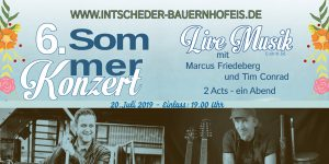 6.Sommerkonzert Intscheder Bauernhofeis